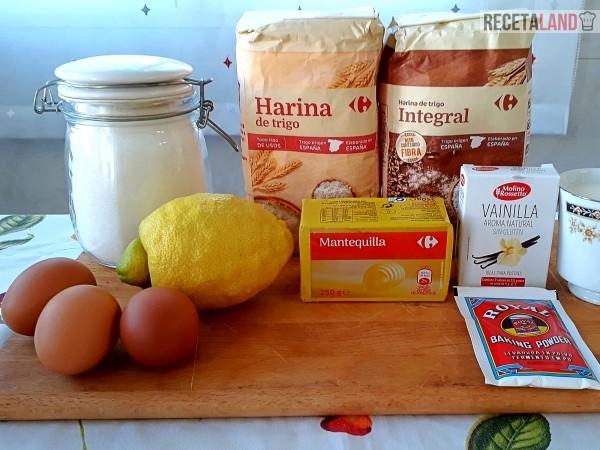 ingredientes queque facil