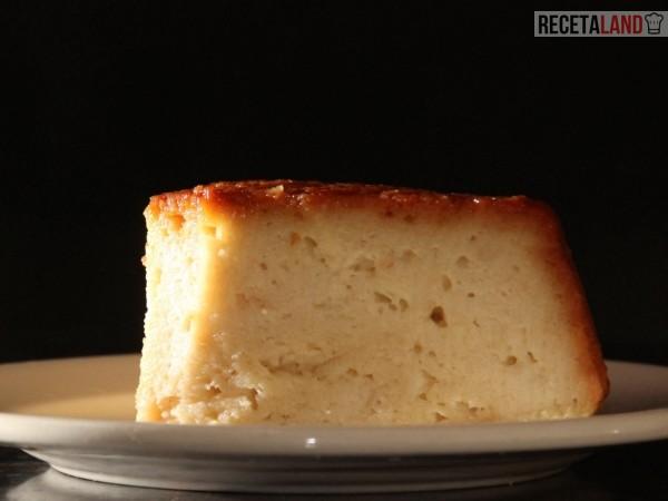 Receta de torta de pan tipo quesillo