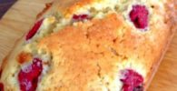 queque de frambuesa