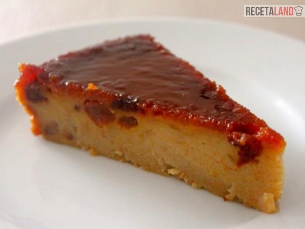 trozo de torta de pan venezolana