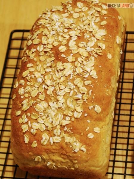 receta de pan de avena casero