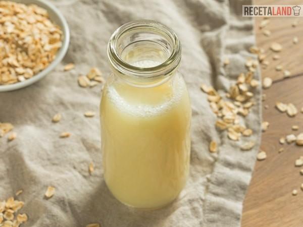 agua de avena con leche, opción de desayuno saludable