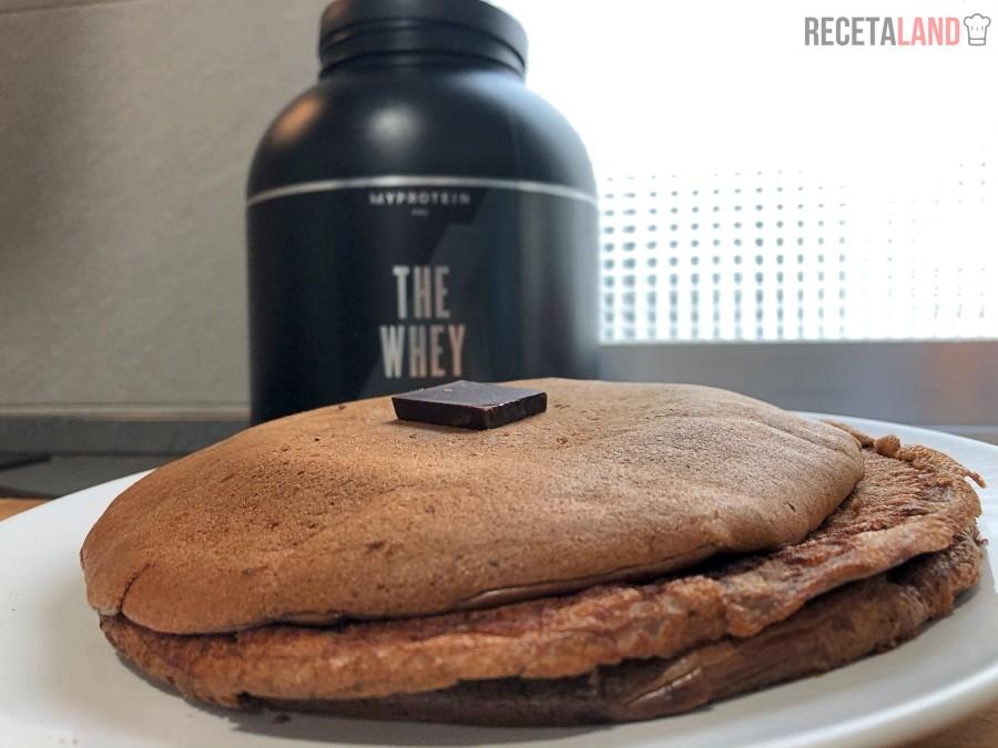 Tortitas Proteicas de proteina, cacao y avena