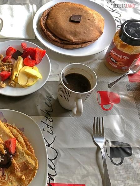 Desayuno saludable y proteico