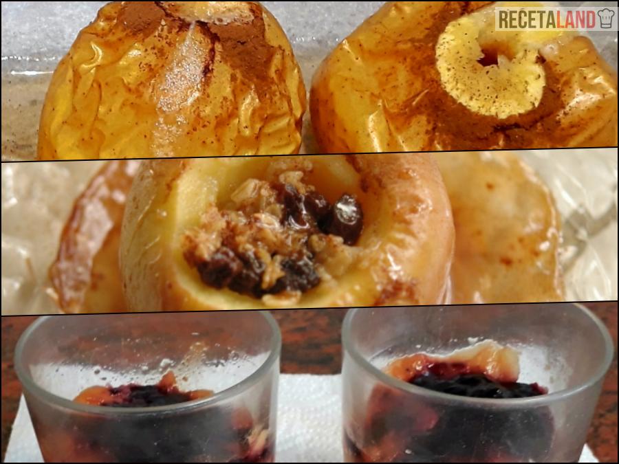 manzanas asadas 3 recetas