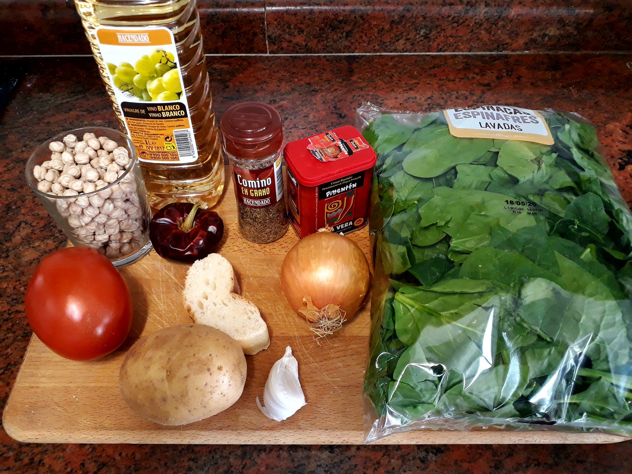 Ingrediente de Potaje de Garbanzos