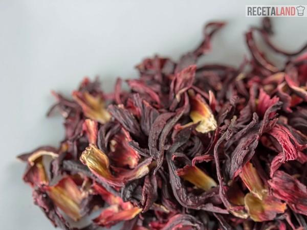 flor de jamaica seca para infusión o te