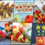 20 Recetas de Brochetas de Frutas