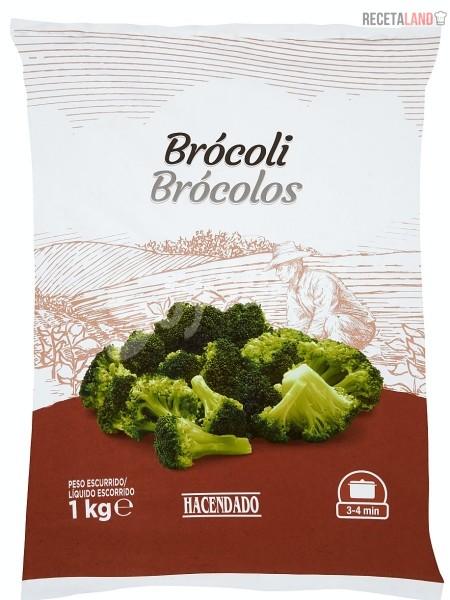 Brócoli congelado Hacendado (Mercadona)
