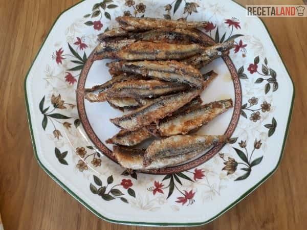 Boquerones Fritos en Adobo