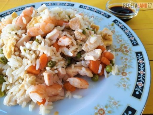 Plato de Arroz 3 delicias
