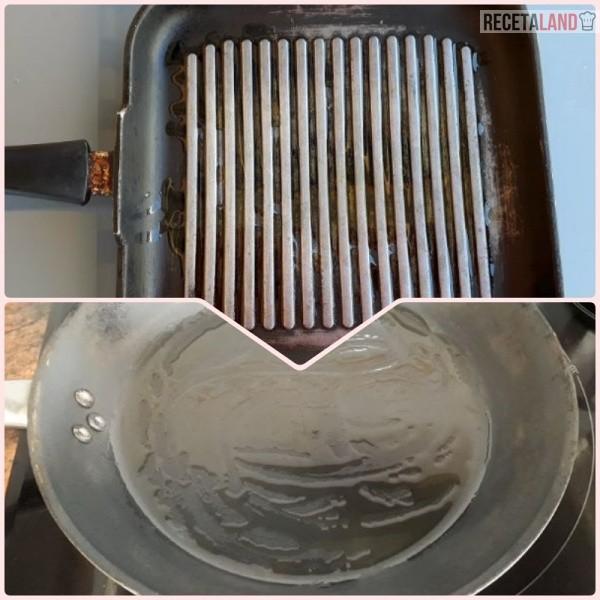 Sartén y Parrilla para cocinar a la plancha
