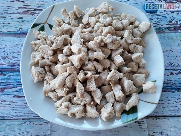 Pollo frito reservado