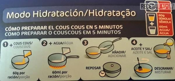 Tiempos de cocción del cuscús
