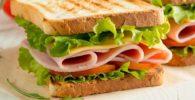 Sandwich de Pavo y Queso 1
