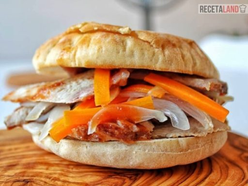 receta de sandwich de chola