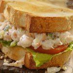 Sándwich de Cangrejo