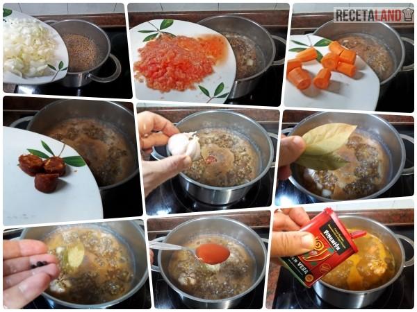 Foto Resumen de los ingredientes a añadir