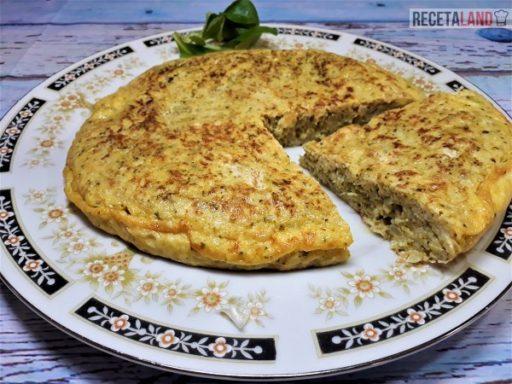 Tortilla de Brócoli troceada