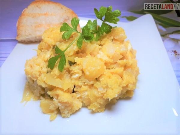 Zarangollo con patatas